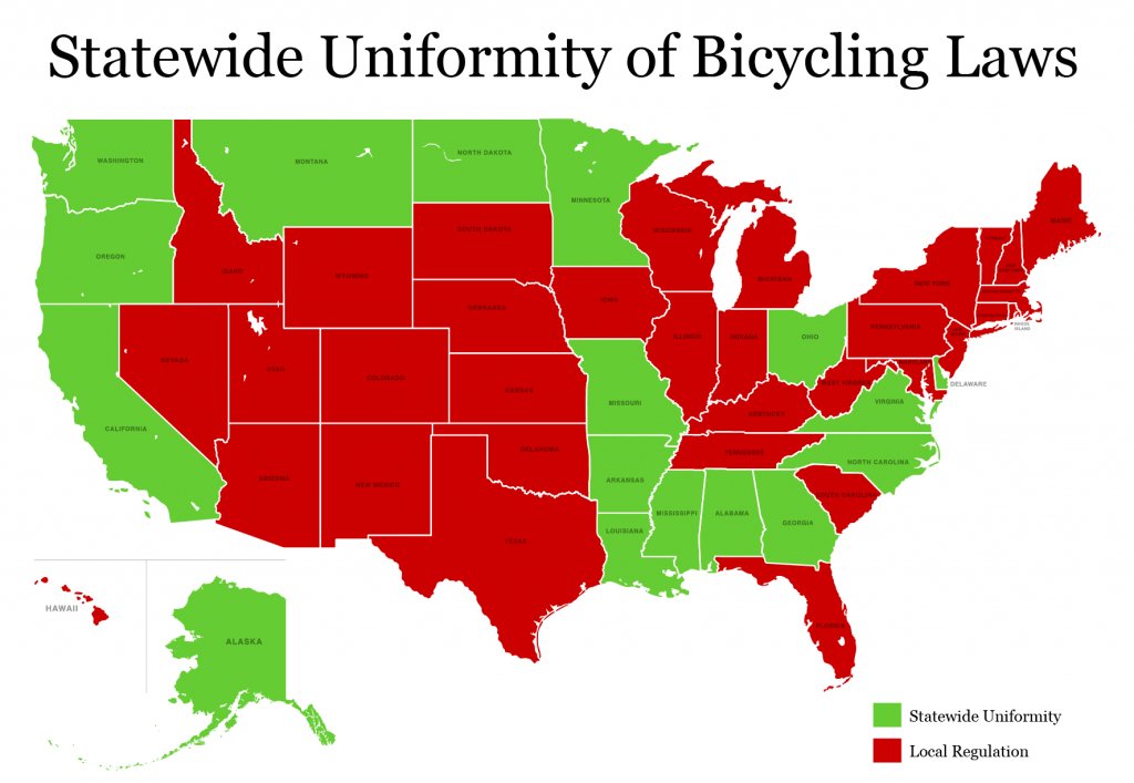 statewide uniformity of vehicle code