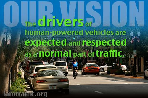 """""""I Am Traffic"""" Bicycle Education Colloquium"""