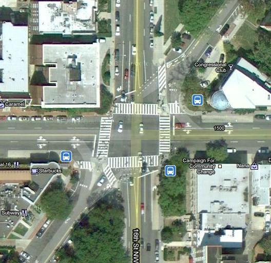 The 6-Way, Washington, DC - i am trafficOne Way Street Intersection