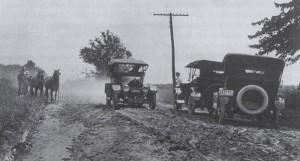sandusky road c1910
