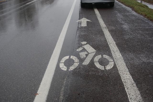 Ask i am traffic: Shoulders as Bike Lanes