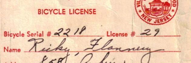 Ask i am traffic: Bicyclist Licensing