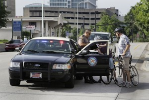 When a bicyclist is pulled over in a state with abicyclist-specific FTR law, the disucssion about the statute requires explanation and interpretation of a long list of exceptions.